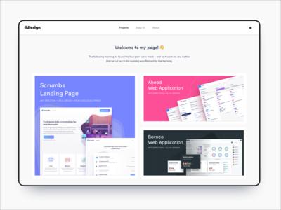 ildiesign Landing Page UI Design