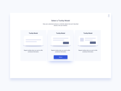 Create New Pop Up UI Design