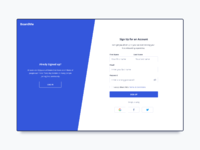 Day 795 sign up ui design