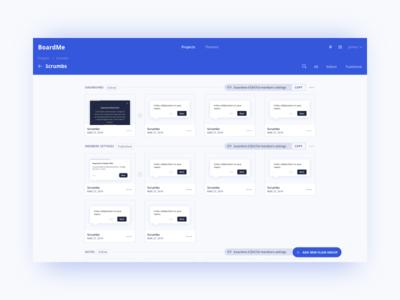 Boardme Flows Screen Ui Design