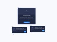 Dark Themed Guide Types UI Design