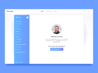 Day 812 scrumbs welcome message ui design