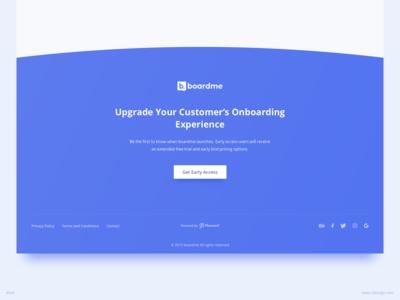 Footer UI Design | Boardme