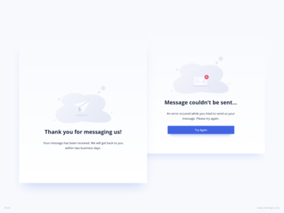 Message Delivery Confirmation UI Design