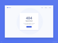 Day 837 404 page ui design
