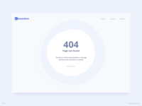 404 Error Page UI Design |  Revised