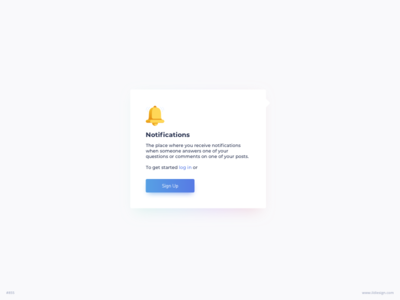 Notifications Tooltip Ui Design