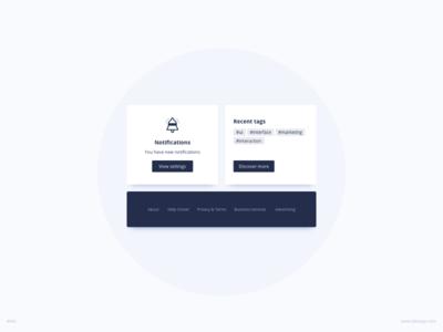 Cards UI Design