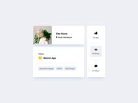 Card UI Design
