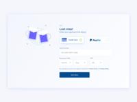 Credit Card Details UI Design | Adobe XD Playoff