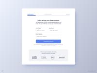 Create Account UI Design