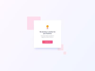Contact Card UI Design