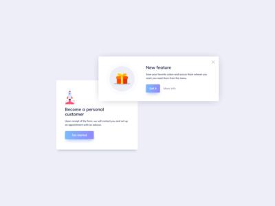 Crads UI Design