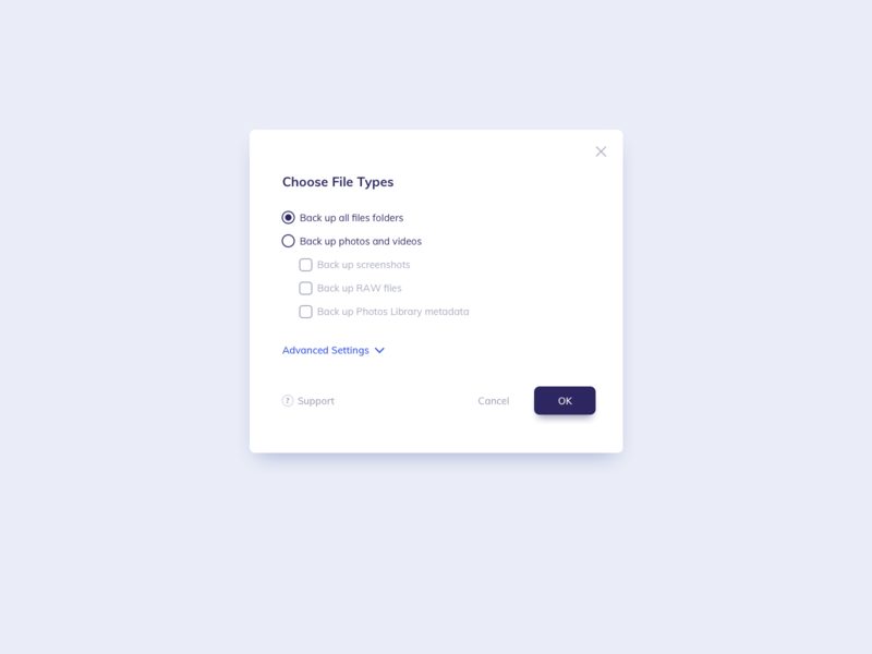 Select File Modal UI Design ildiko gaspar daily ui uidesign ux ui ildiesign modal design modal window modal box pop up modal ui modal