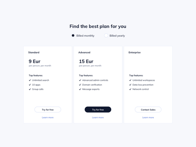 Pricing Table UI Design ux design ui design ildiesign pricing ui cards design cards ui pricing cards pricing table ui pricing table pricing ui kit design ui kit bootstrap theme bootstrap ux ui