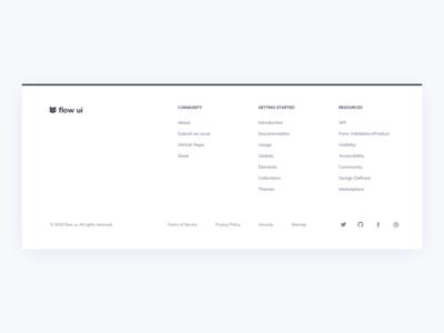 Footer UI Design