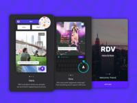 RDV - App Intro (Tutorial) Screens