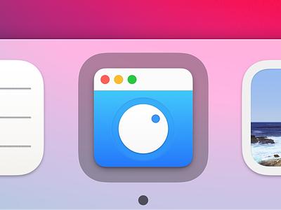 HazeOver Icon for Big Sur big sur macos big sur apple macos logo design icon sketch app mac