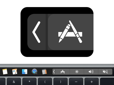 TouchSwitcher App Icon touchbar macbook apple mac macos osx icon sketch vector app