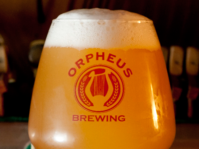 Orpheus Brewing Beer Glass