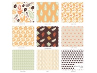 Retro Vibes Pattern Collection