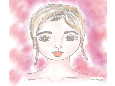 Mimi Stylized Portrait
