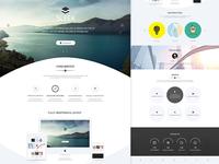 Sleek Multipurpose Website Part 2