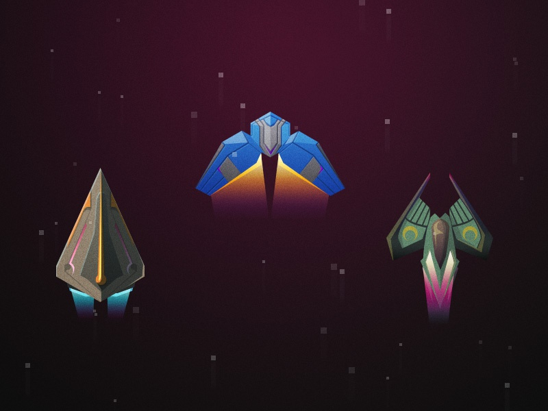 Ship Sprites videogame game illustration space unity spaceship sprites