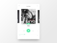 Music Player User Interface Design