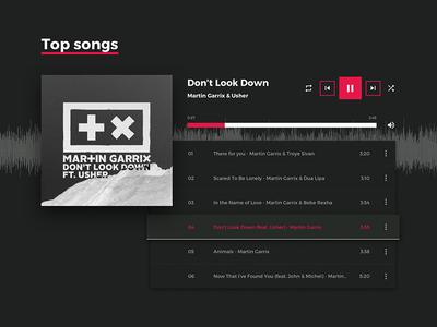 Martin Garrix website - Redesign concept   Shot 02