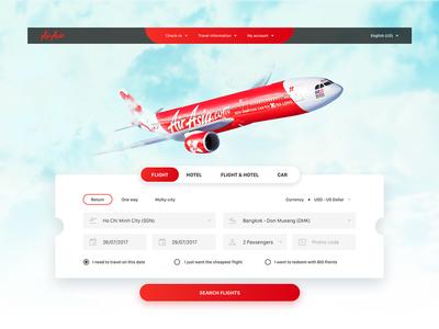 AirAsia - Redesign concept