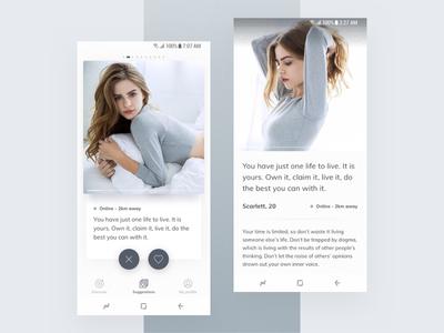 Dating mobile app