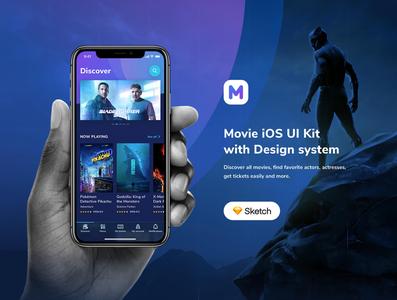 Moveee - Movie UI Kit for iOS