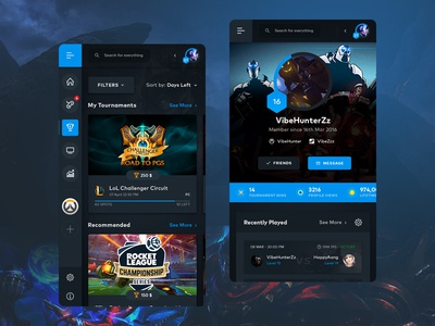 Game App game branding mobile application mobile app trending ui design inspiration creative