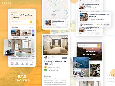 Crown Mobile Application app designers australia designer portfolio designer ux  ui mobile application trending design ui inspiration creative