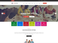 Education one page website uifuse