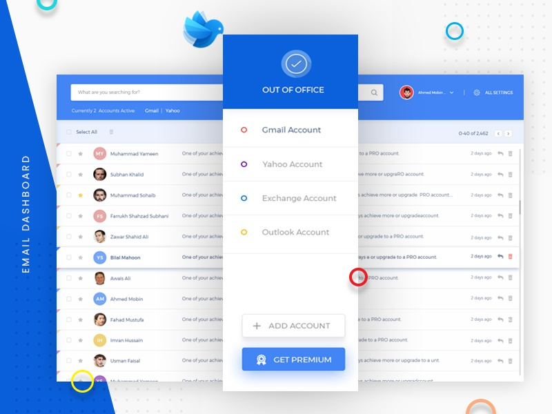 Email System Dashboard