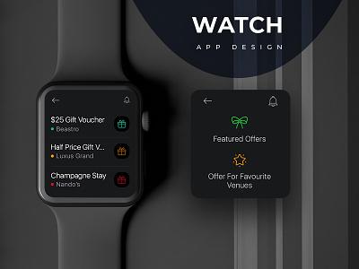 Reward Card (Watch App Design) application design watch os watch app