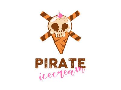 Ice Cream Logo logodesign logotype trending branding illustration logo design inspiration creative