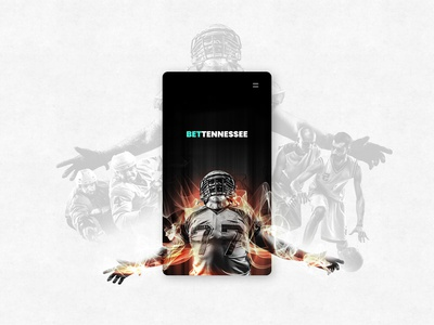 UI Concept Art - Sports Betting Site