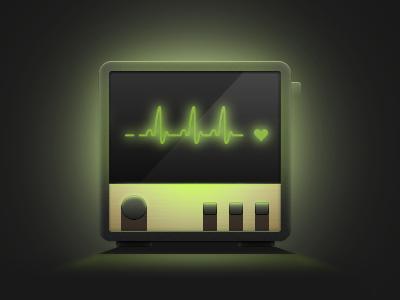 Cardio icon cardio heart illustration light tfe
