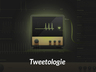 Tweetologie twitter tweetologie dataviz data datavisualisation tfe monitor heart