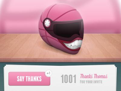 First Shot Dribbble Pierre Glibert web web design webdesign illustration helmet dribbble thanks invite debut