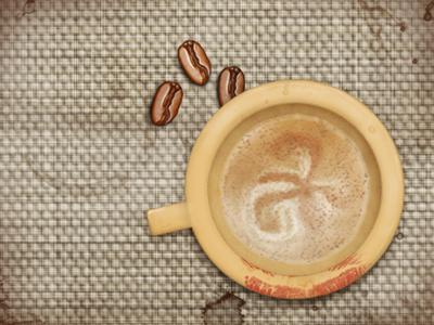 hot coffee coffee illustration texture zen cappuccino photoshop