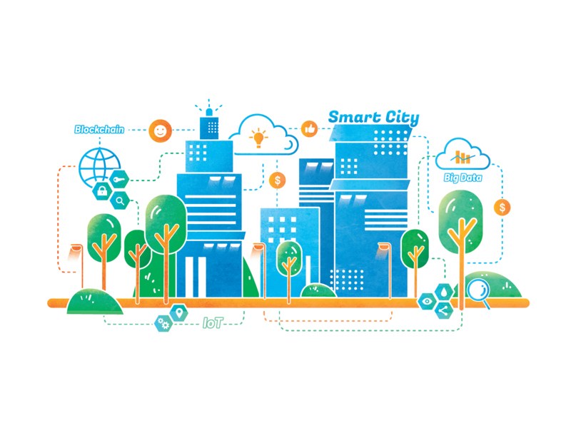What is a smart city? vector illustration vectorart adobe illustrator illustration infographic