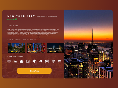 Travel agency website design concept web travel website app landing page ux ui