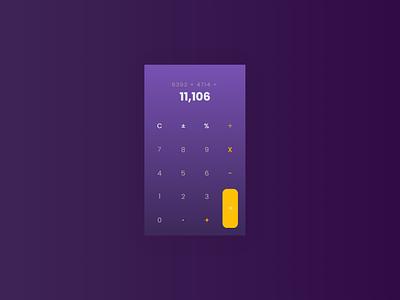Calculator UI design concept programs program calculator website web app apps ux ui