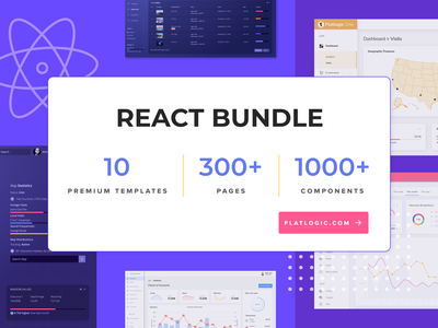 React Bundle template javascript app web trendy design trendy admin template design components pages templates bundle react admin template reactjs react