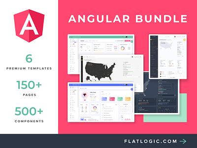 Angular Bundle ui ux dashboard app interface webdevelopment webdesig web dashboad admintemplates admin theme angular admin template angular dashboard angular bundle