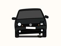 Broken VW Lupo
